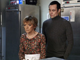 Michael finds Jean upset after hearing that Alfie plans to get rid of her.