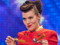 The burlesque performer talks to Digital Spy about her semi-final tonight.