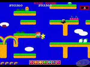 'Rainbow Islands' screenshot