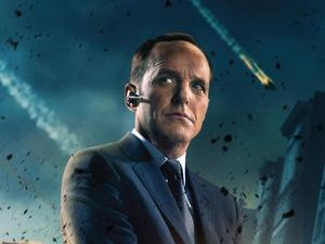 &#39;The Avengers/Marvel Avengers Assemble&#39; poster: Clark Gregg as Agent Coulson