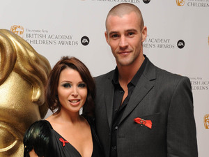 Dannii Minogue and her boyfriend Kris Smith.