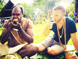Gary Barlow visits the Solomon Islands