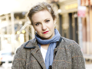 Actress Lena Dunham