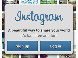 Instagram for Android screenshot - First Run