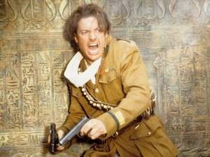 Brendan Fraser in The Mummy