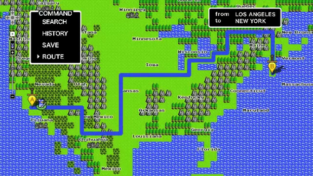 Google Maps 8-Bit cartridge