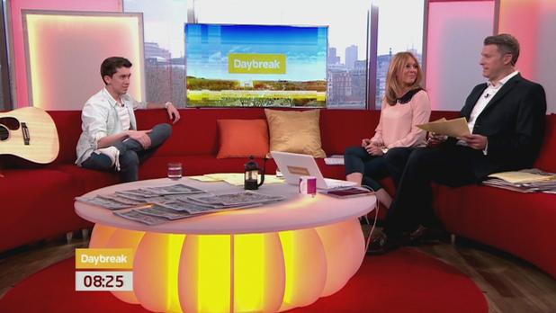 Ryan OShaughnessy appears on 'Daybreak'