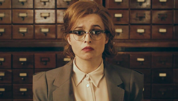 Helena Bonham Carter in the video for Rufus Wainwrights 'Out Of The Game '