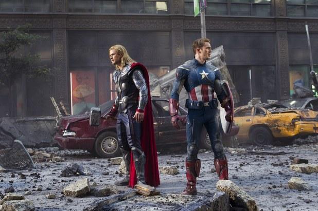 'The Avengers' still