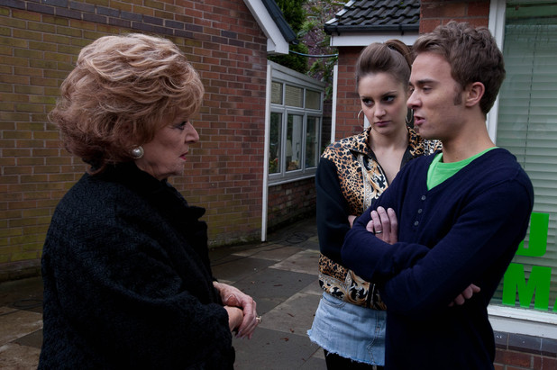 Rita berates David and Kylie
