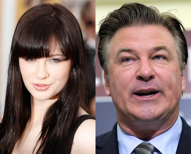 Alec Baldwin, daughter Ireland