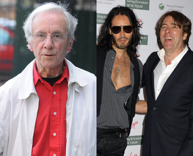 Andrew Sachs, Russell Brand and Jonathan Ross