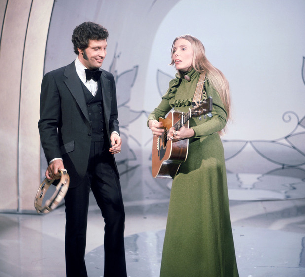 Tom Jones and Joni Mitchell
