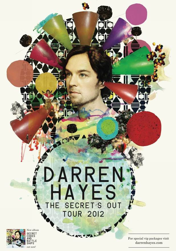 Darren Hayes Tour Dates