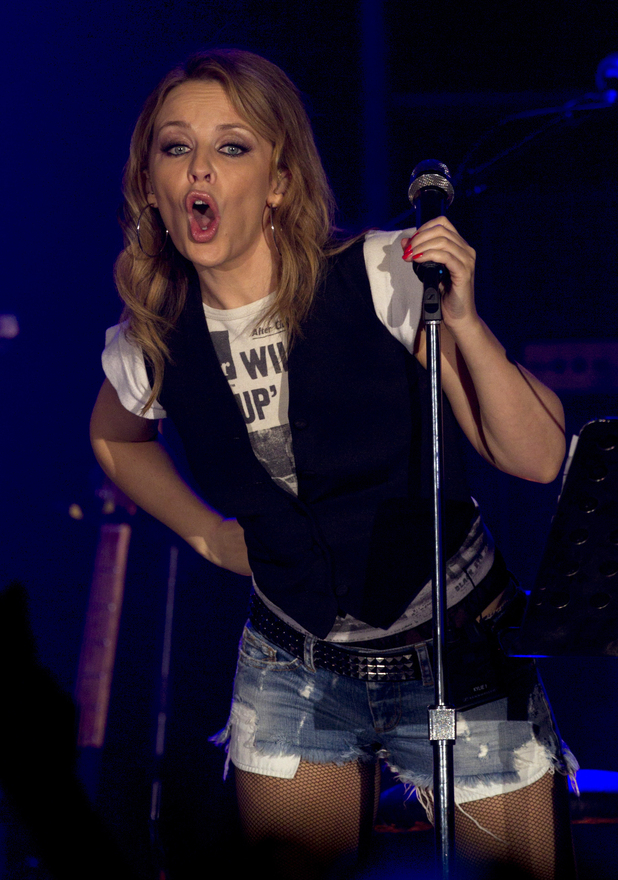 Kylie Minogue Anti-Tour Manchester Concert In Pictures