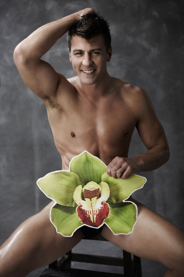 Orchid male cancer charity shoot