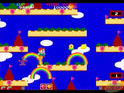 We remember Bubble Bobble's arcade follow-up, Rainbow Islands.