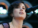 "Missy Higgins says that she is ""thankful"" she decided to make a music comeback."