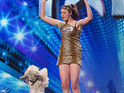 Dancing Got Talent dog Pudsey is hyped up by her owner Ashleigh Butler.