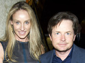 Michael J Fox has not experienced many difficulties with wife Tracy Pollan.