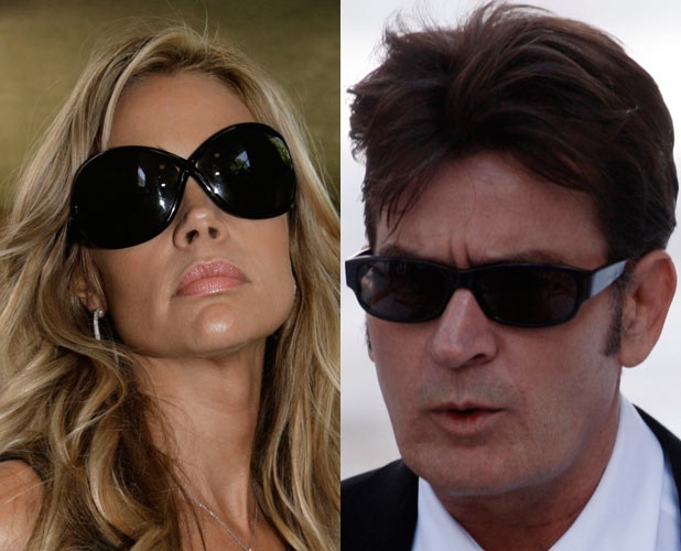 Charlie Sheen, Denise Richards