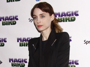 Rooney Mara Broadway opening night of Magic/Bird at the Longacre Theatre  Arrivals. New York City