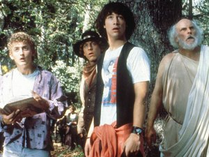 'Bill & Ted's Excellent Adventure' still