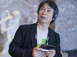 Shigeru Miyamoto at Le Louvre Museum