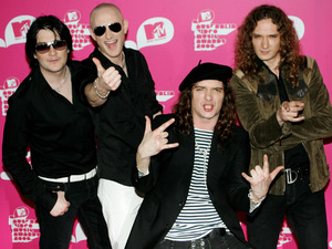 Members of the band The Darkness