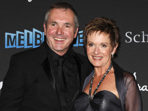 Everybody's favourite Neighbours duo Alan Fletcher and Jackie Woodburne.