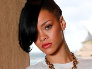 Rihanna photo shoot at the Park Hyatt Hotel in Sydney, New South Wales, Australia