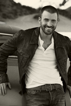 Chris Evans Details Photoshoot