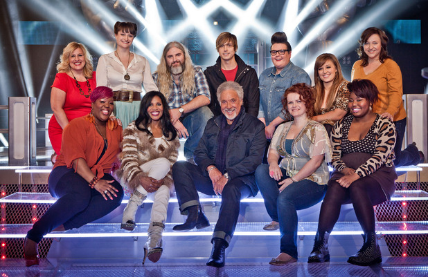Tom Jones and his Battle Round team.