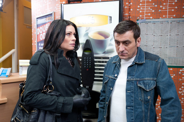 Peter is unhappy with Carla