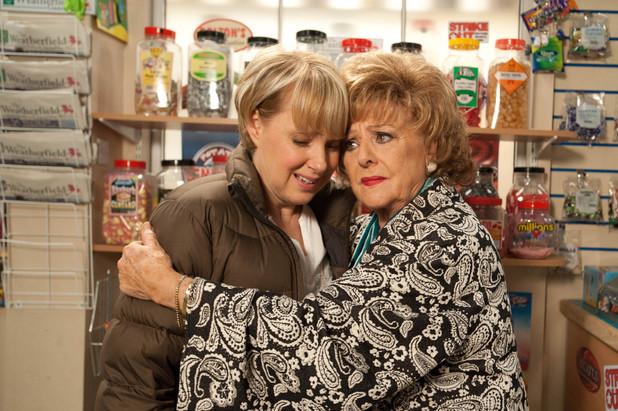 Rita comforts Sally