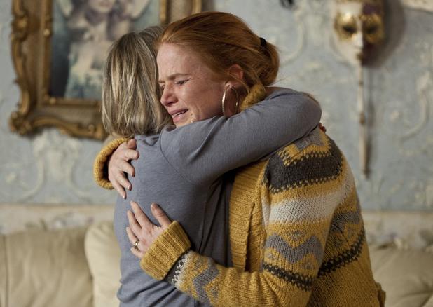Carol consoles Bianca.