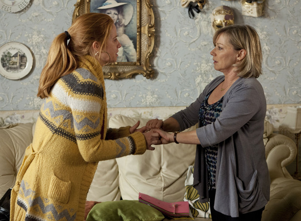 Bianca is distraught as she tells Carol she has broken the rules of her probation.