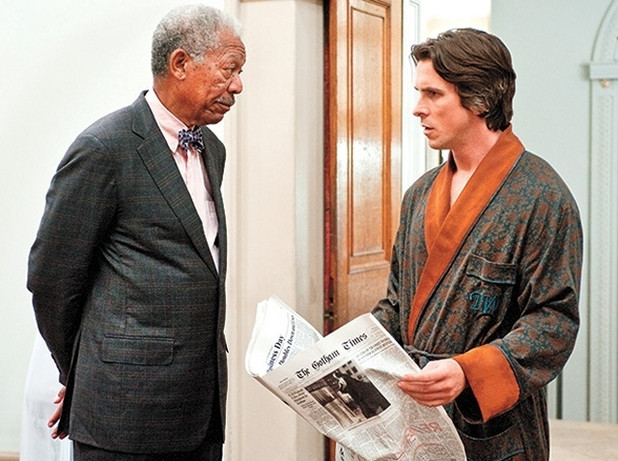 Morgan Freeman Christian Bale
