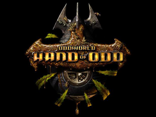 'Oddworld: Hand of God' logo