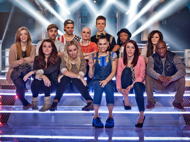 Jessie J and her Battle Round team