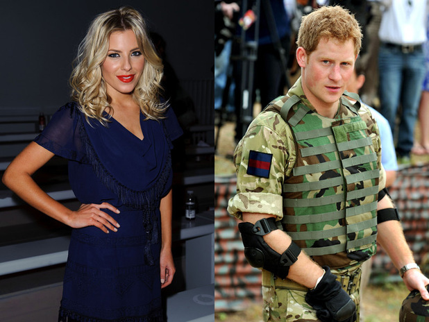 Mollie King and Prince Harry