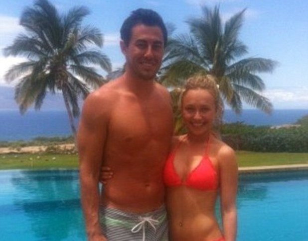 Hayden Panettiere, New York Jets player Scotty McKnight