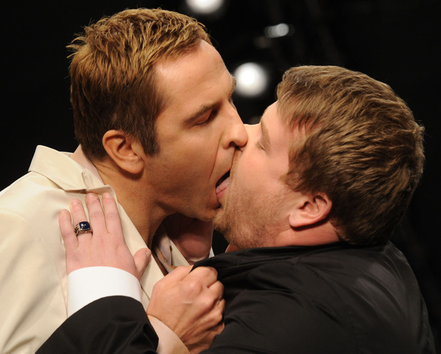 James Corden and David Walliams