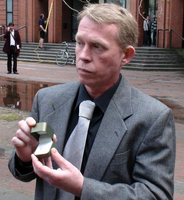 Gregory Todd outside Hull Crown Court today. 