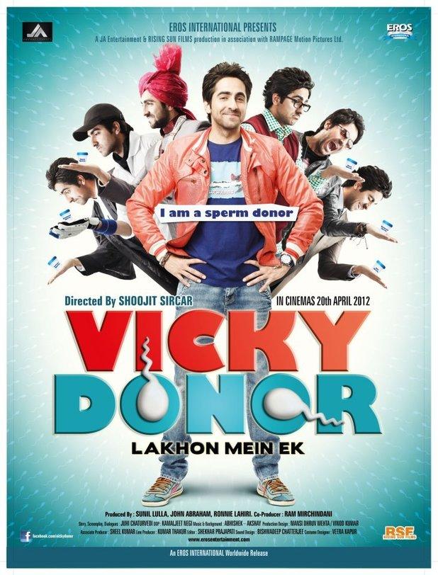 Vicky Donor Poster ayushman khurana