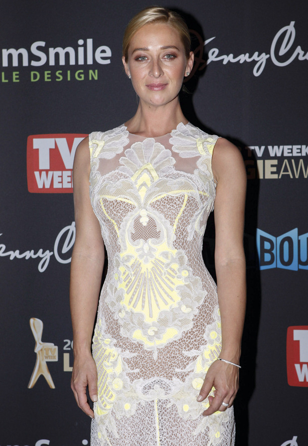 Gold Logie nominee Asher Keddie.
