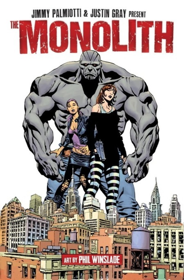 'The Monolith' cover