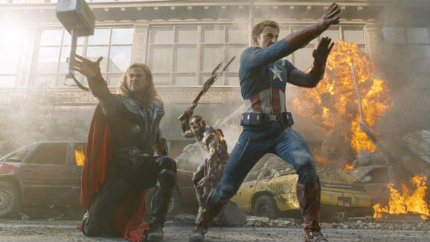 'The Avengers' Digital Spy exclusive clip: Thor and Captain America battle alien foes