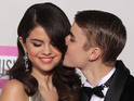 Selena Gomez admits that she was embarrassed when she was caught on a kiss cam.