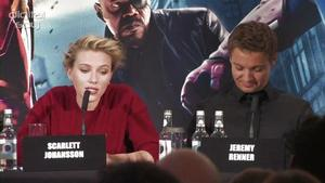 'The Avengers' UK press conference interviews in full